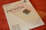 PlayStation Card PS Vita unboxing 1